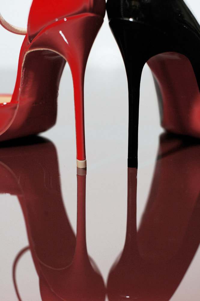 Red and Black, Christian Louboutin, London
