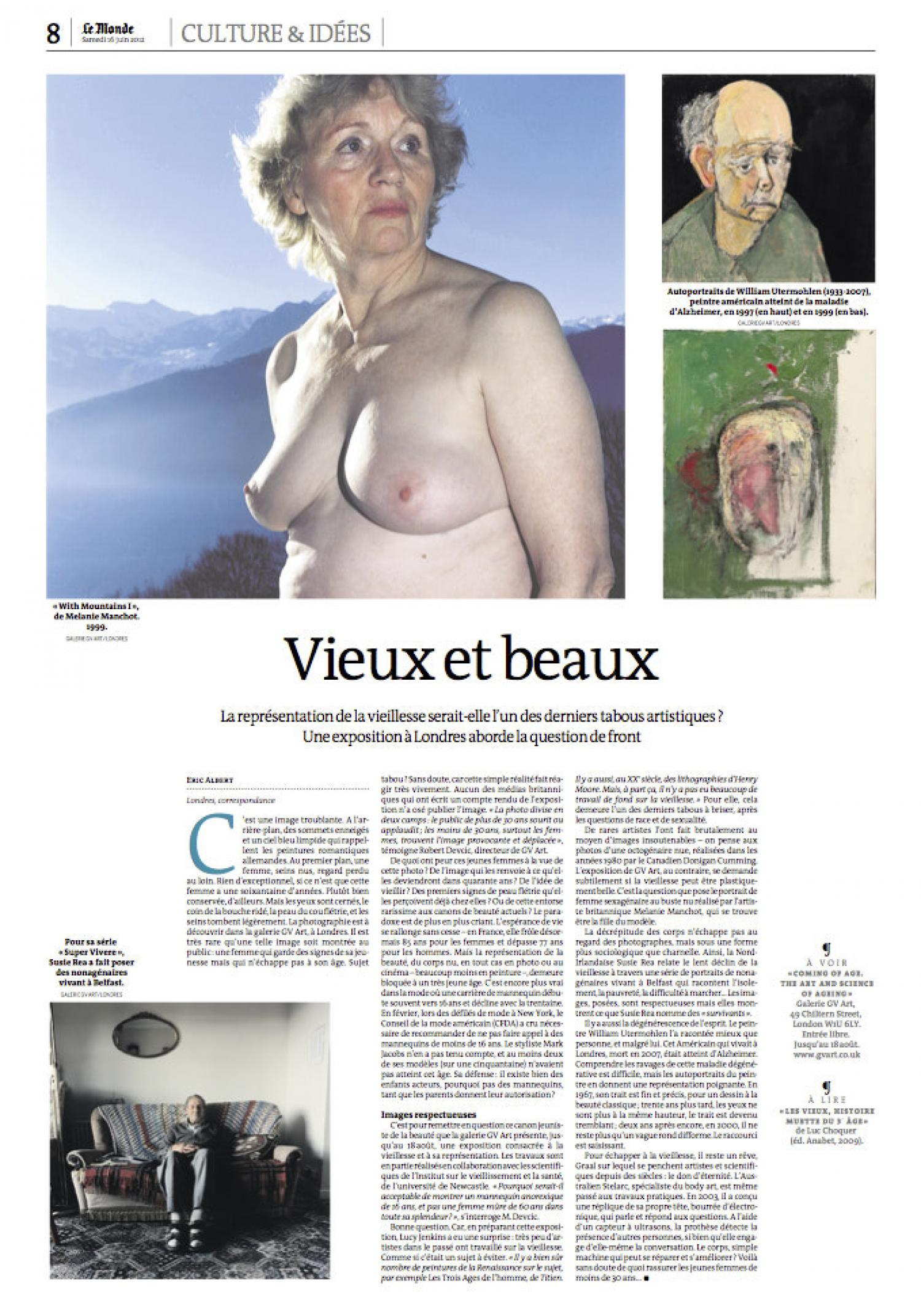 Le Monde Article Coming of Age